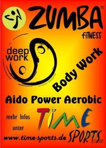 Zumba Flashmob - Flyer mit Rand - Seite 1
